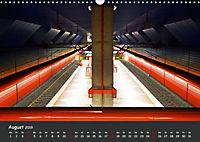 U-Bahn-Stationen des Westens (Wandkalender 2019 DIN A3 quer) - Produktdetailbild 8