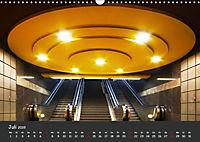 U-Bahn-Stationen des Westens (Wandkalender 2019 DIN A3 quer) - Produktdetailbild 7