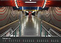 U-Bahn-Stationen des Westens (Wandkalender 2019 DIN A2 quer) - Produktdetailbild 2