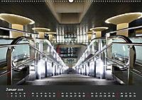 U-Bahn-Stationen des Westens (Wandkalender 2019 DIN A2 quer) - Produktdetailbild 1