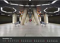 U-Bahn-Stationen des Westens (Wandkalender 2019 DIN A2 quer) - Produktdetailbild 11