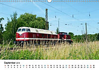 U-Boot trifft Babelsbergerin. Die Baureihen 118 und 119 der Deutschen Reichsbahn (Wandkalender 2019 DIN A3 quer) - Produktdetailbild 11