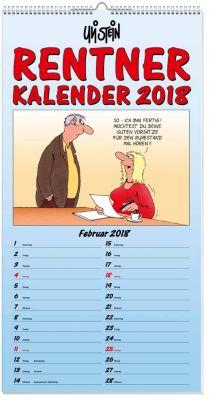 U. Stein Rentnerkalender 2018