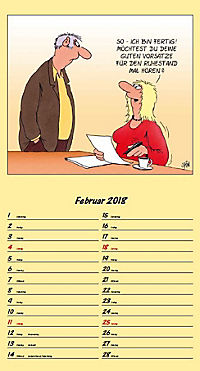 U. Stein Rentnerkalender 2018 - Produktdetailbild 2