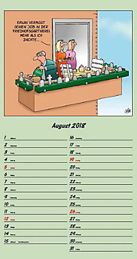 U. Stein Rentnerkalender 2018 - Produktdetailbild 8
