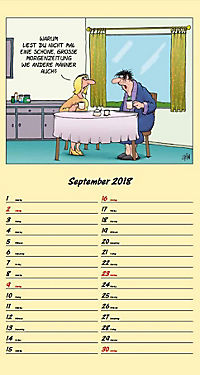 U. Stein Rentnerkalender 2018 - Produktdetailbild 9