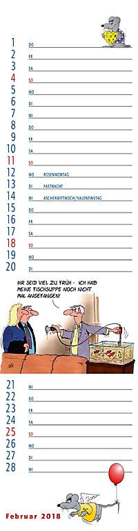 U.Stein Streifenkalender 2018 - Produktdetailbild 2