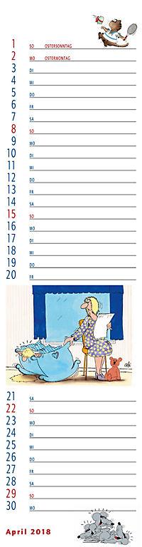U.Stein Streifenkalender 2018 - Produktdetailbild 4