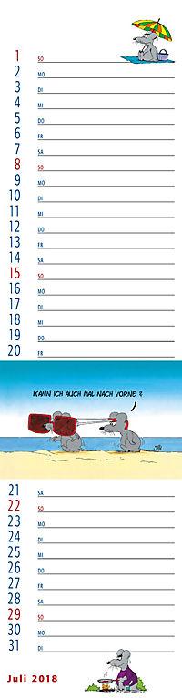 U.Stein Streifenkalender 2018 - Produktdetailbild 7