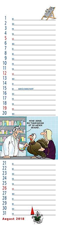 U.Stein Streifenkalender 2018 - Produktdetailbild 8