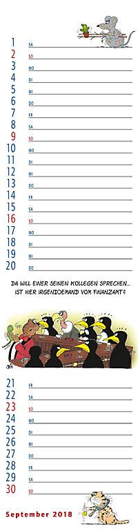 U.Stein Streifenkalender 2018 - Produktdetailbild 9