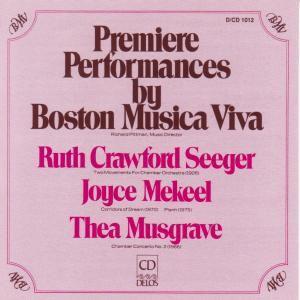 Ua Boston Music Viv./Kammermusik, Pittman, Boston Musica Viva