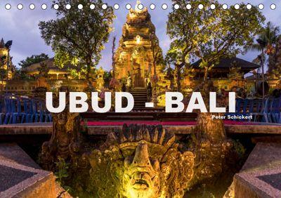 Ubud - Bali (Tischkalender 2019 DIN A5 quer), Peter Schickert
