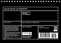 über den Dächern von FRANKFURT (Tischkalender 2019 DIN A5 quer) - Produktdetailbild 13