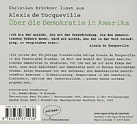 Über die Demokratie in Amerika, 1 Audio-CD - Produktdetailbild 1