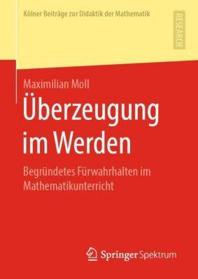Überzeugung im Werden - Maximilian Moll pdf epub