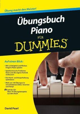 Übungsbuch Piano für Dummies, m. Audio-CD, David Pearl