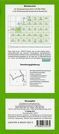 Üxheim 1 : 25 000 - Produktdetailbild 1