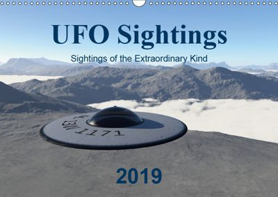 UFO Sightings - Sightings of the Extraordinary Kind (Wall Calendar 2019 DIN A3 Landscape), Michael Wlotzka and Linda Schilling