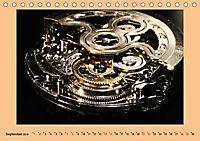 Uhr-Werk-Kunst (Tischkalender 2019 DIN A5 quer) - Produktdetailbild 9