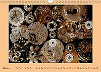 Uhr-Werk-Kunst (Wandkalender 2019 DIN A4 quer) - Produktdetailbild 4