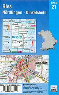 UK50-21 Ries, Nördlingen, Dinkelsbühl - Produktdetailbild 1