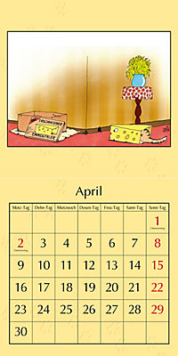 Uli Stein Katzenkalender 2018 - Produktdetailbild 4