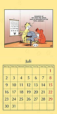 Uli Stein Katzenkalender 2018 - Produktdetailbild 7