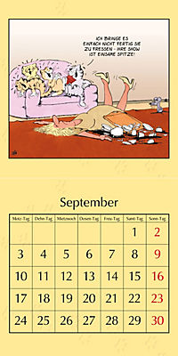Uli Stein Katzenkalender 2018 - Produktdetailbild 9