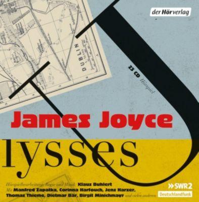 Ulysses, 23 Audio-CDs, James Joyce