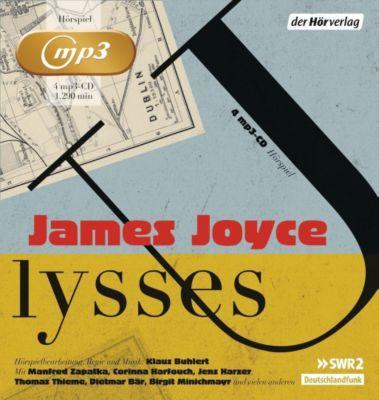 Ulysses, 4 MP3-CDs, James Joyce