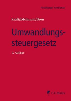Umwandlungssteuergesetz (UmwStG), Kommentar -  pdf epub