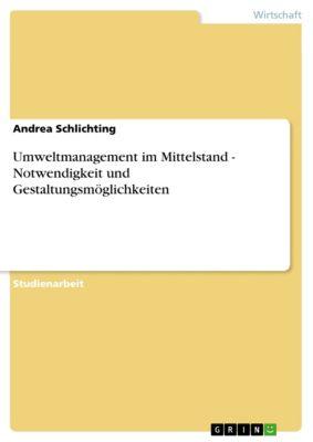 Umweltmanagement im Mittelstand - Notwendigkeit und Gestaltungsmöglichkeiten, Andrea Schlichting