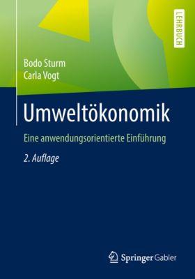 Umweltökonomik, Bodo Sturm, Carla Vogt