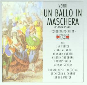 Un Ballo In Maschera (Ga), Metropolitan Opera House Orchestra & Chorus