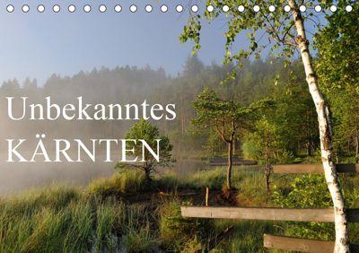 Unbekanntes KärntenAT-Version (Tischkalender 2019 DIN A5 quer), Burkhard Strassburg