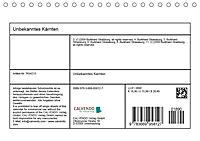 Unbekanntes KärntenAT-Version (Tischkalender 2019 DIN A5 quer) - Produktdetailbild 13