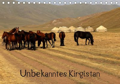 Unbekanntes Kirgistan (Tischkalender 2019 DIN A5 quer), Bernd Becker