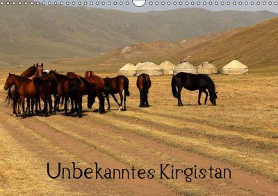 Unbekanntes Kirgistan (Wandkalender 2019 DIN A3 quer), Bernd Becker