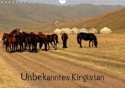 Unbekanntes Kirgistan (Wandkalender 2019 DIN A4 quer), Bernd Becker