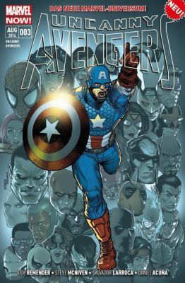Uncanny Avengers - Marvel Now!, Rick Remender