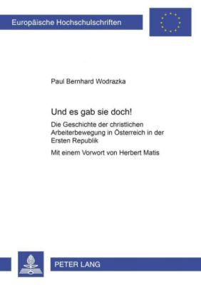 Und es gab sie doch!, Paul Bernhard Wodrazka