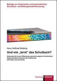 Und wie lernt das Schulbuch?, Hans Hellfried Wedenig