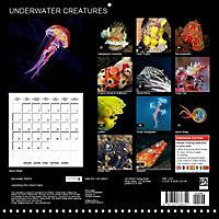 UNDERWATER CREATURES (Wall Calendar 2019 300 × 300 mm Square) - Produktdetailbild 13