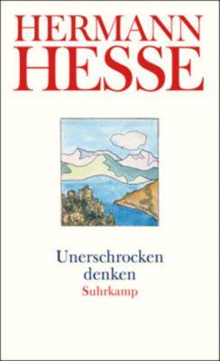 Unerschrocken denken, Hermann Hesse