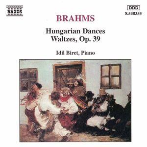 Ungarische Tänze/Walzer Op.39, Idil Biret