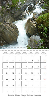 Unique Alpine World (Wall Calendar 2019 300 × 300 mm Square) - Produktdetailbild 2