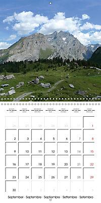 Unique Alpine World (Wall Calendar 2019 300 × 300 mm Square) - Produktdetailbild 9