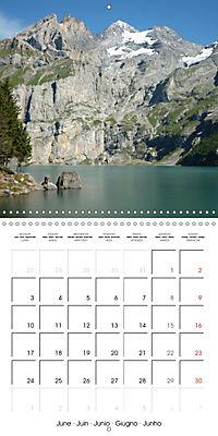 Unique Alpine World (Wall Calendar 2019 300 × 300 mm Square) - Produktdetailbild 6