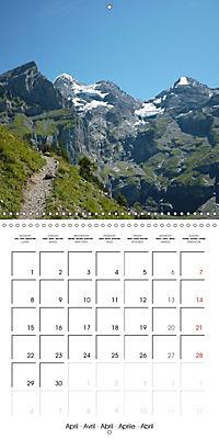 Unique Alpine World (Wall Calendar 2019 300 × 300 mm Square) - Produktdetailbild 4